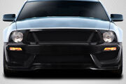 For 05-09 Ford Mustang Carbon Fiber Gt350 Look Front Bumper 115441