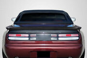 For 90-96 Nissan 300zx Z32 Carbon Fiber Twin Turbo Look Wing Spoiler 115557