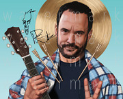 Dave Matthews Band Signed Photo 8x10 Print Poster Picture Autograph Rp