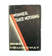 Winner Take Nothing By Ernest Hemingway First Edition Hb In Dj