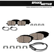 Front And Rear Ceramic Brakes For 2010 - 2012 2013 Land Rover Range Rover Sport