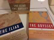 Penguin Classics Ser. The Illiad And The Odyssey Box Set, By Robert Fagles....