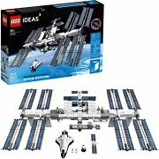 Lego Ideas International Space Station 21321 Building Kit, New 864 Pieces
