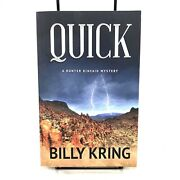 Quick By Billy Kring English Signed By Author Paperback Book Free Shipping