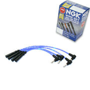 1 Pc Ngk Spark Plug Wire Set For 1983-1988 Toyota Corolla 1.6l L4 - Engine Yp