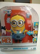 Despicable Me 2 Collectorand039s Edition Talking Minion Dave 9 Toysrus Thinkway Toys