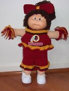 Handmade Hand Crochet Clothing For 16-17 Inch Cabbage Patch Dolls, Select One