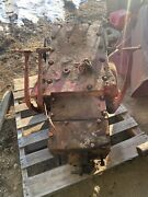 Mcormick W6 Rear End Transmission Antique Tractor