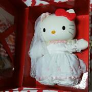 Sanrio Hello Kitty Plush In The Trunk Wedding 1998 Limited 5000 Dress-up Doll