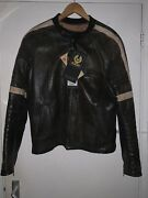 Very Rare Iconic Belstaff War Of The Worlds Andlsquoheroandrsquo Brown Leather Jacket Size Xl