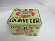 Vintage Advertising Beech-nut Chewing Gum Store Counter Display Tin M-369
