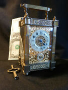 Antqe 8 Day Carriage Clock 1830/40 Timeandalarm, French, Ornate, Veryrare, Ex Cond