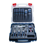 Bosch Professional 1600a016bw Tradespeople Set 40 Pieces Screwdrivers Pliers