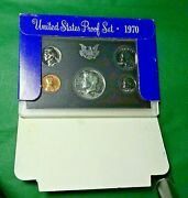 1970-s Small Date Proof Set Issued By The Us Mint Complete Original