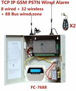 Control Panel Main Board With Cabinet Wireless/wired Zone Industrial Power Alarm