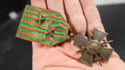 Wwi Wwii French Army Criox De Guerre With 2 Stars And Pin 1914 1915