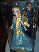 Disney Limited Edition Fairytale Designer Doll Collection Elsa And Hans