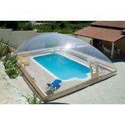 Inflatable Hot Tub Swimming Pool Customised Solar Dome Cover Tent Blower And Pump