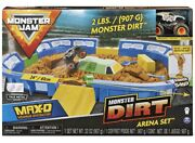 Monster Jam, Monster Dirt Arena 24-inch Playset With 2lbs Of Monster Dirt