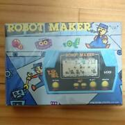 Takatoku Toys Robot Maker Lsi Game Watch With Box Battery Operated Made In Jpn