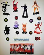 Miraculous Evil Fighters Complete Set With All Papers Kinder Surprise 2020/2021