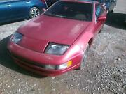 Rear Bumper Assembly Nissan 300zx 90 91 92 93 94 95 96 Cracked From Two Places