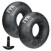 Two Tyk 5.30-12, 530-12 Inner Tubes For Boat Trailer Tires With Tr13 Valve Stems
