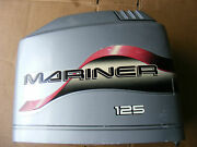 Mercury Mariner 125 Hp Engine Cover Top Cowling 822362-1 Hood Outboard