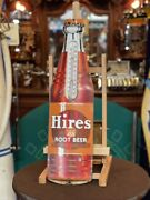28 Hires Root Beer Soda Tin Thermometer Advertising Sign Watch Video