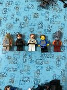 5 Lego Star Wars Minifigures, Clone Wars,jedi, No Cracked Arms Or Torsos.lot 116