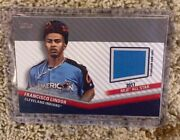 2020 Topps Update Francisco Lindor All-star Stitches Indians Assc-fl