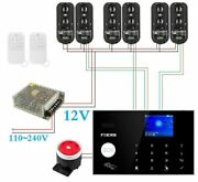 Wireless Home Security Alarm Systems Intelligent Kit Set Network Wifi Gsm Device