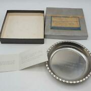 Vintage Steel Trinket Tray Free Accepted Masons F. And A.m. Aliquippa Pa 1966