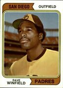 1974 Topps Baseball Pick Complete Your Set 251-500 Rc Stars Free Shipping