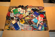 Vintage Matchbook Collection Over 1000 Various Advertisement Books