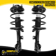 2007-2013 Mitsubishi Outlander Front Pair Complete Struts And Springs W/ 3rd Row