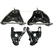 Control Arm Ball Joint Suspension Kit 4-pc Front Left-and-right Upper For Chevy