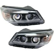 Set Of 2 Hid Headlights Lamps Left-and-right Hid/xenon Lh And Rh For Sorento Pair