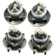 Wheel Hubs Set Of 4 Front And Rear Left-and-right 12413031 Lh Rh For Rendezvous