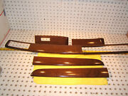 Lexus 1997 Sc400 Coupe Front Doors Wood / Dash Long Oem 1 Set Of 5 Covers Only