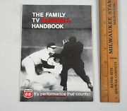 Phillips 66 1968 The Family Tv Baseball Handbook Viewing Guide