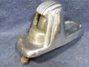 1941-48 Ford Cars Original Chrome License Plate Light Lamp Housing With Lens