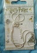 Harry Potter Silver Plated Deathly Hallows Necklace