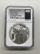 2016 Niue Star Wars Darth Vader Ngc Pf 70 Ucam Ultra Cameo First Releases