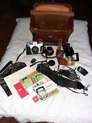 Zeiss Ikon Contarex Camera Lenses And Accessories - Price Reduced