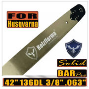 Holzfforma 42 3/8 .063 136dl Guide Bar Compatible With Husqvarna 61 66 266 Xp