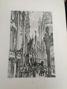 Antique Original Ideal Architectures By Carl Zehnder 1906 Portfolio