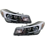 Headlights Lamps Set Of 2 Left-and-right 92102b0700, 92101b0700 Lh And Rh Pair