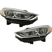 Headlights Lamps Set Of 2 Left-and-right 92102c2500, 92101c2500 Lh And Rh Pair