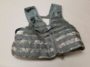 New Us Army Molle Ii Fighting Load Carrier Vest Rifleman Real Usgi